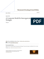 A Composite Model for Interorganizational Strategies
