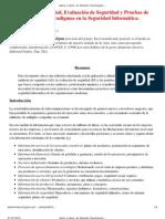 Auditoria, Evaluación, Penetración - Tres Paradigmas en la Seguridad Informática - Jeimy J Cano Phd
