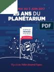 Programme 25 ans planétarium