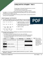 19 - FCE Training (R & UOE Part 3 - Useful Language & Word Formation)