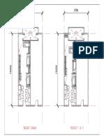 Plan Lantai Asrama 1-Model