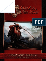 Fealty and Freedom L5R