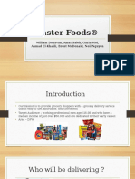 faster foods  marketing project  final  1