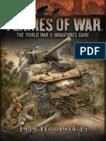 Flames of War - 4th Ed EW & LW Rule Book