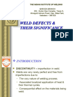 9-Weld Defects - Vishwakarma