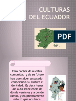 Culturas Del Ecuador Diapositivas