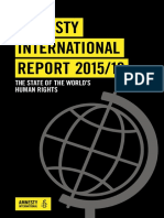 Amnisty International REPORT 2015-2016