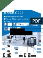 Bizhub c227 Datasheet_ro