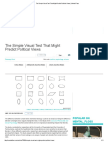 The Simple Visual Test That Might Predict Political Views _ Mental Floss