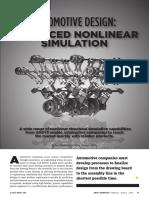 Automotive Design Advanced Nonlinear Simulation AA V9 I2