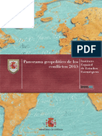 Panorama Geopolitico de Los Conflictos 2015
