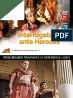 Lección 17 - Interrogatorio Ante Herodes