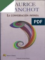 Blanchot - El Athenaeum (de La Conversación Infinita)