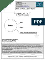 FANN Roller Oven Zincir Motoru