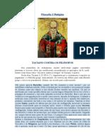 Filosofia X Religião - Taciano Contra Os Filósofos