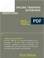 SAP FICO Interview Questions