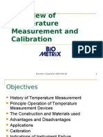 Biometrix Overview of Temperature Measurement and Calibration