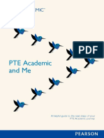 PTE Academic and Me 英文