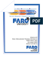 08m13e02 - Basic Measurement Training Workbook for the Instructor FARO