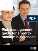 Risk Management Guide for Small to Medium Businesses