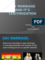 GAY MARRIAGE AND IT'S LEGITIMIZATION.pptx