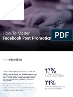 How to Master Facebook Post Promotion