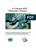 Palm Cockatoo Husbandry Guidelines 2006