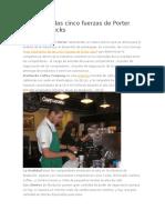 Análisis de Las Cinco Fuerzas de Porter Para Starbucks