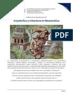 Historia IV_Semana 2_ Tema Arquitectura y Urbanismo en Mesoamerica