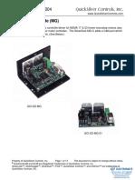 QuickSilver Controls QCI-DS004 QCI-D2-MG