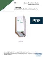 QuickSilver Controls QCI-DS021 QCI-D2-IGF