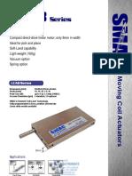 SMAC LCA8 Series Linear Actuator Brochure