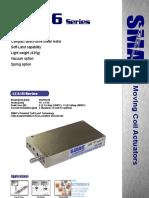 SMAC LCA16 Linear Actuator Brochure