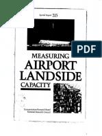 Measuring Airside Capacity