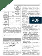 Ordenanza que modifica el Reglamento de Organización y Funciones (R.O.F) de la Unidad de Logística de la Municipalidad