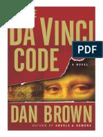 Dan Brown, DA VINČIJEV KOD