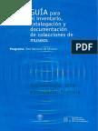 GUÍA para el inventario, catalogación y documentación de colecciones de museos- arquelogía, arte, etcnografía, historia.pdf