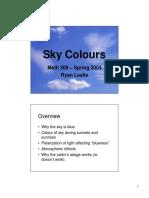 Sky Colours
