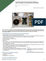 50W Bricolaje Hi-Fi Amplificador de Sonido Con La Protección Del Trazado de Circuito - Gadgetronicx