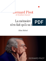 La Memoire n'en Fait Qu'a Sa Tete - Bernard Pivot