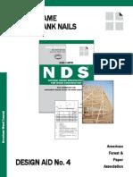 DA 4 - Post Frame Rink Shank Nails