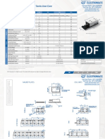 Tecnotion TM Series Specsheet