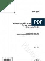 Pärt Arvo - 7 Magnificat per Coro.pdf