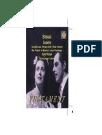 Strauss - Arabella Libretto