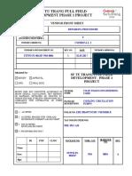 STFFD P1 004107 P04 0004 Repairing Procedure Comment