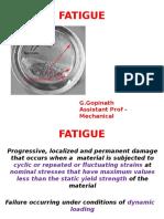 Fatigue Test Procedure