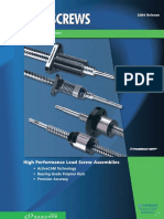 Thomson BSA Lead Screws Catalog
