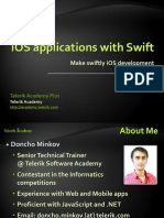 IOS Apps With Swift