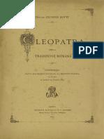 Giuseppe Botti, Cleopatra nella tradizione romana