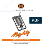 Mighty Vaporizer Instructions Manual